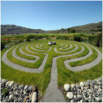 Bild von einem Labyrinth